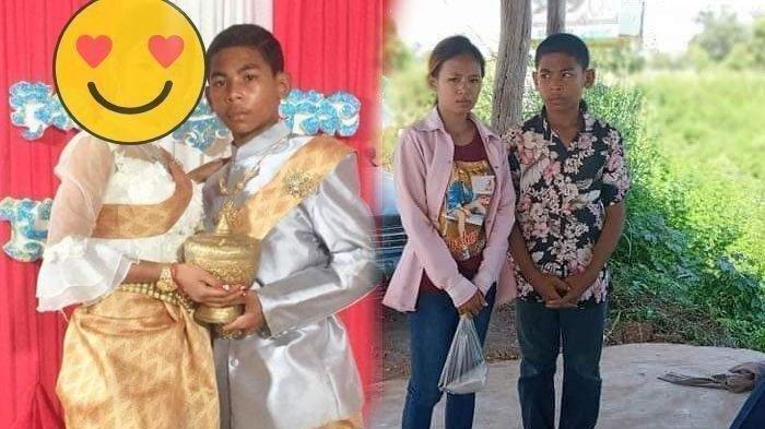 Remaja 14 Tahun Nikahi Wanita 21 Tahun, Wajah Pengantin Wanita Disorot