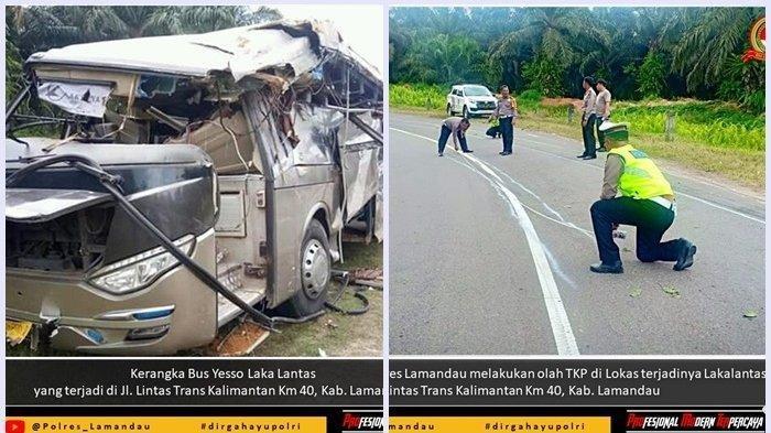 Tiga Korban Belum Terdata, Ini Daftar Penumpang Bus Yessoe yang Terbalik di Lamandau