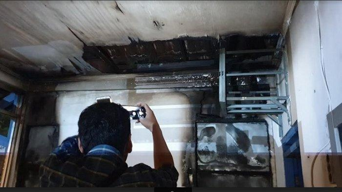 Api Diduga Berasal dari Belakang, Pos Polisi di Solo Terbakar