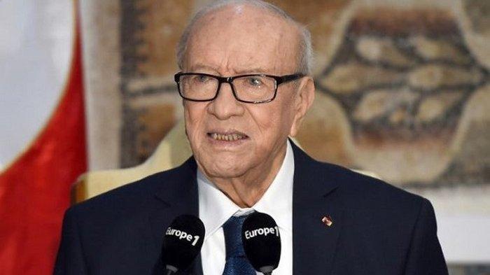 Meninggal Dunia di Usia 92 Tahun, Presiden Tunisia Beji Caid Essebsi Kepala Negara Tertua di Dunia