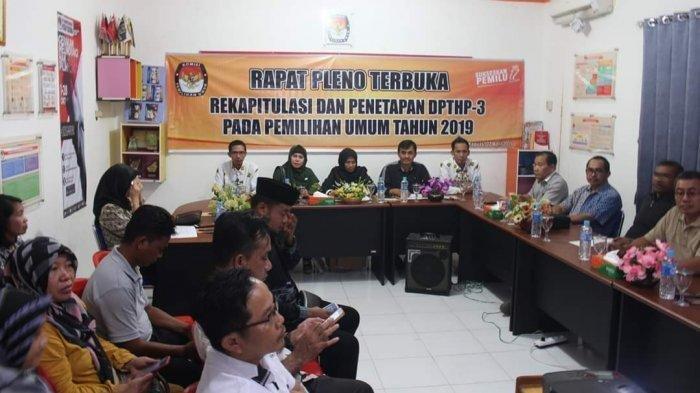 Penetapan DPTHP-3, Ini Jumlah Pemilih Tetap di Kabupaten Kapuas
