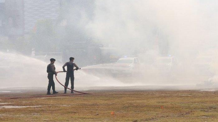 Begini Kesan Ketua Komisi III DPR RI Soal Penanganan Kebakaran Lahan Oleh Polda Kalteng