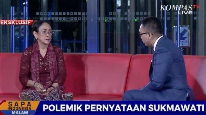 Bandingkan Jasa Soekarno dengan Nabi Muhammad, Sukmawati: Saya Nggak Mau Bahas Itu Deh