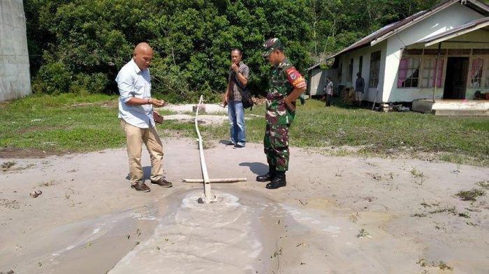 Sumur Bor Keluarkan Air Bercampur Gas, Warga Kayong Utara Kalbar Cemas