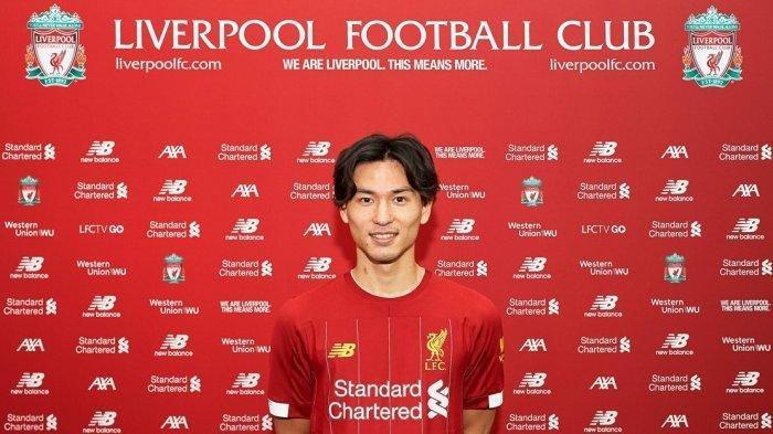 Bermain di Liverpool, Ini Profil & Statistik Takumi Minamino