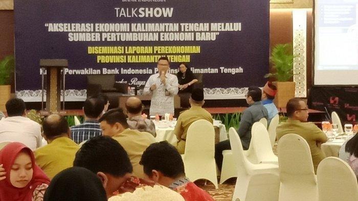 Dari Diskusi Ekonomi Kalteng, Terlalu Tergantung Tambang dan Tak Stabil, Ini Saran Bank Indonesia