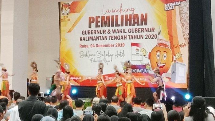 Launching Pilgub Kalteng 2020, KPU Segera Bentuk PPK dan PPS