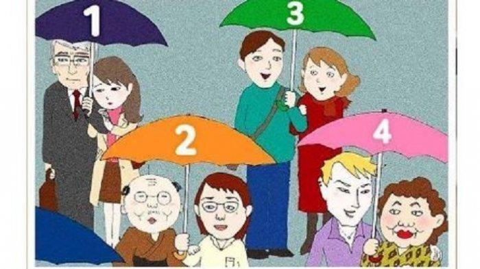 Ungkap Kepribadianmu, Mana dari 4 Pasangan Ini yang Selingkuh?