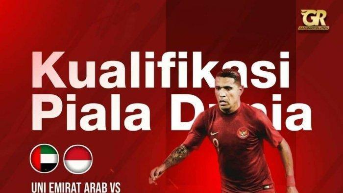 Uni Emirat Arab vs Timnas Indonesia Bertemu di Kualifikasi Piala Dunia 2020, Catat Jadwalnya