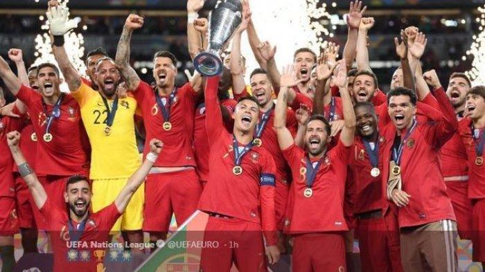 Tekuk Belanda 1-0, Portugal Juara UEFA Nations League 2019