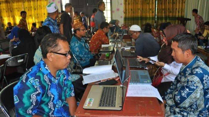 450 Guru PAI Kapuas Ikuti Ujian Pemetaan Komptensi Online