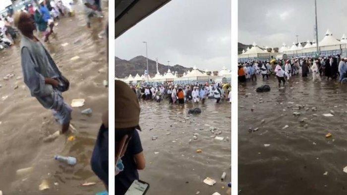 VIRAL Banjir di Mina Hingga Pemadaman Listrik, Ternyata Begini Faktanya