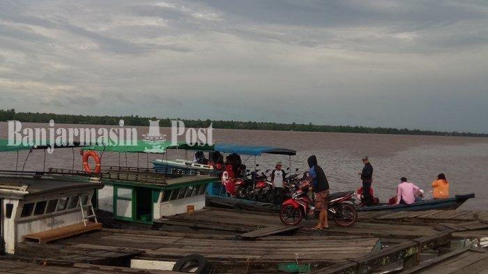 Cegah Teror Buaya Ganas Sungai Mentaya Sampit Kalteng, Rumah Panggung Dipasangi Jaring