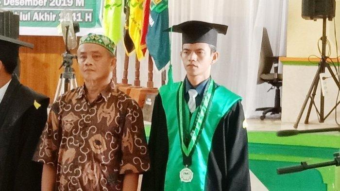Putra Barsel Jadi Wisudawan Peraih IPK Tertinggi di IAIN Palangkaraya