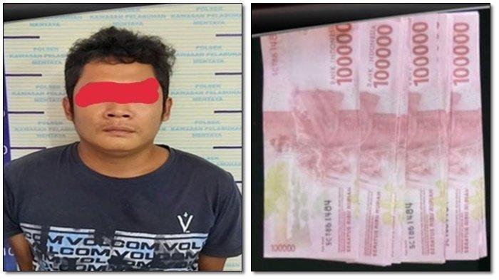 Bayar Ongkos Taksi Pakai Uang Palsu, Warga Kasongan Ini Diamankan Polres Kotim