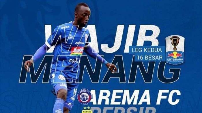 Live Streaming RCTI Arema FC vs Persib Bandung 16 Besar Piala Indonesia 2019, Sedang Berlangsung!