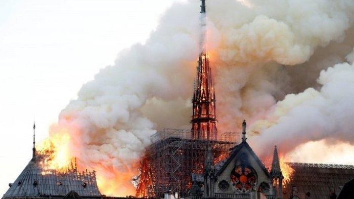 Kebakaran Katedral Notre-Dame, Simbol Sejarah dan Lambang Kota Paris Hancur