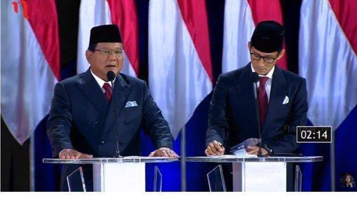 Tak Tampak Saat Prabowo Subianto Gelar Jumpa Pers, di Mana Sandiaga Uno?