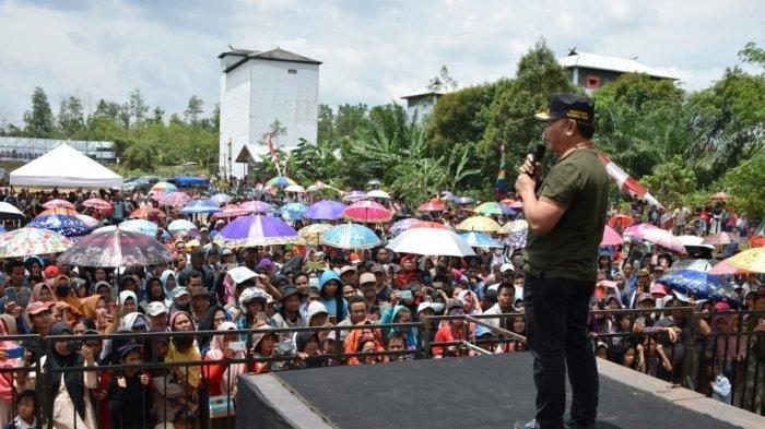 Buka Isolasi Daerah, Gubernur Katleng Janji Bangun Jembatan Penghubung Rantau Pulut-Tumbang Manjul