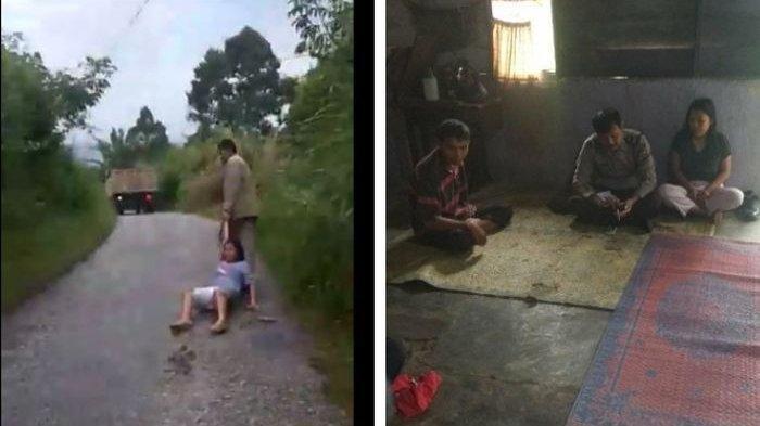 Viral Video Adik Diseret Kakak Kandung di Jalan, Polisi Turun Tangan, Ini Penjelasannya