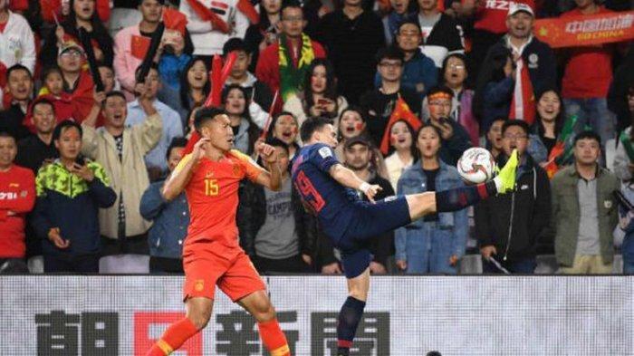 Hasil Piala Asia 2019 - Dikalahkan China, Thailand Gagal Ikuti Vietnam ke Perempat Final