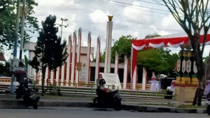 Tugu Soekarno, Ikon dan Saksi Sejarah Palangkaraya sebagai Ibu Kota Kalteng Kurang Terurus