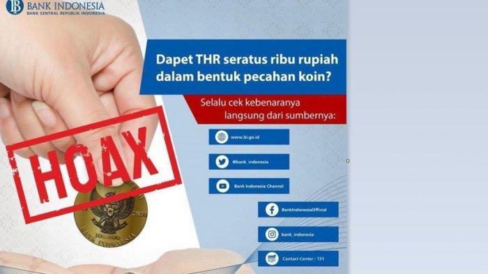 Uang Koin Rp100 Ribu Beredar Viral di Medsos, Kepala BI Kalteng Tegaskan Hoaks