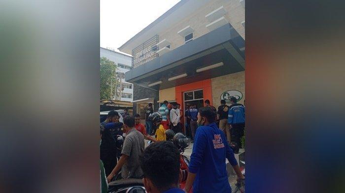Pengendara Motor Ini Tewas Seketika, Dilindas Truk Tangki di Jalan HKSN Banjarmasin