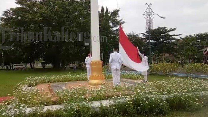 Bupati Ben Brahim Pimpin Upacara HUT ke-75 RI di Pemkab Kapuas