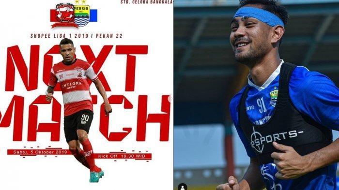 Liga 1 Hari Ini, Susunan Pemain Madura United vs Persib Bandung, Madura Pincang, Kabar Persib Baik?