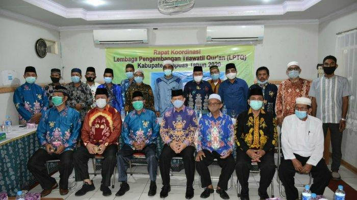 Rakor LPTQ Kapuas, Penyusunan Program hingga Bahas Kesiapan Penyelenggaraan MTQ