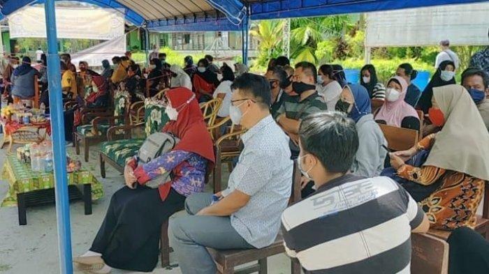 Vaksinasi Massal di Sampit, Jelang Pembelajaran Tatap Muka SLTA Sasar Orang Tua dan Wali Siswa