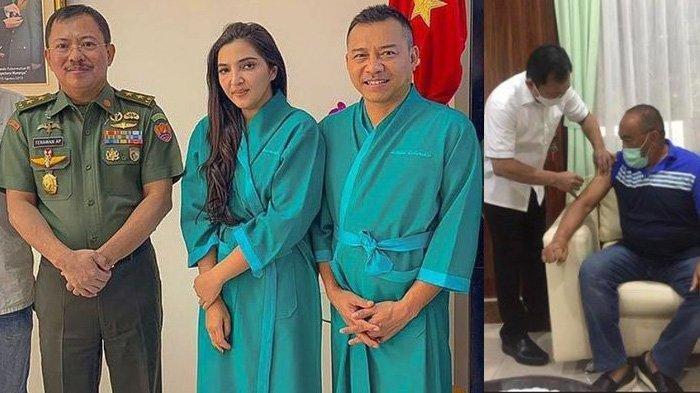 Meski berpolemik, Vaksin Nusantara sudah disuntikkan Mantan Menkes Terawan ke Aburizal Bakrie, sementara pasangan Anang-Ashanty diambil sampel darahnya untuk juga disuntik Vaksin Nusantara