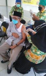 Ketua MUI Kapuas Minta Seluruh Pengurus MUI dan NU Bantu Kelancaran Vaksinasi Lansia di Kapuas