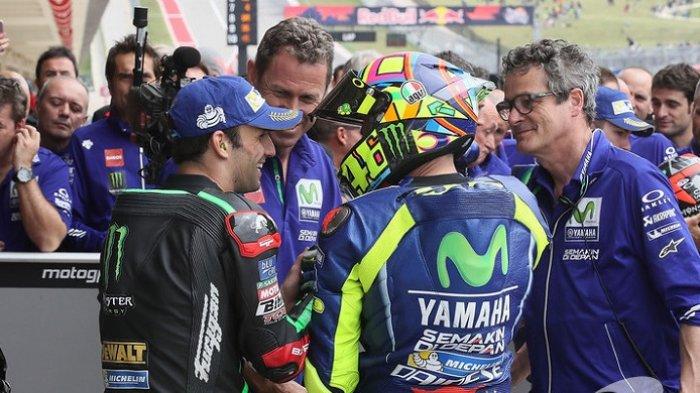 Hasil Kualifikasi MotoGP Ceko 2020 : Johann Zarco Asapi Fabio Quartararo, Rossi 10 Besar