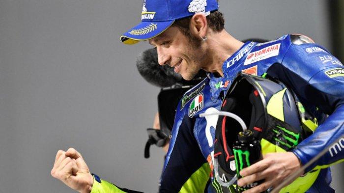 Sudah Setahun Puasa Juara, Rossi Akui Sulit Kalahkan Marquez