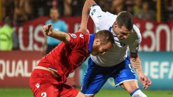 Kualifikasi Piala Eropa 2020 - Timnas Italia Kembali Ciptakan Rekor Usai Kalahkan Armenia Skor 3-1