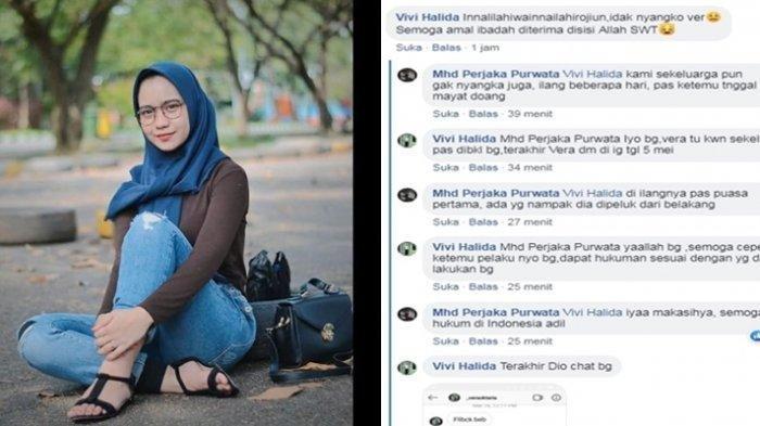 Kasir Indomaret Jadi Korban Mutilasi, Pamit Pulang Kerja, Vera Oktaria Ditemukan Sudah Tak Bernyawa