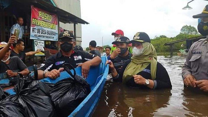 Banjir di Enam Kecamatan di Kotawaringin Timur Mulai Berangsur Surut