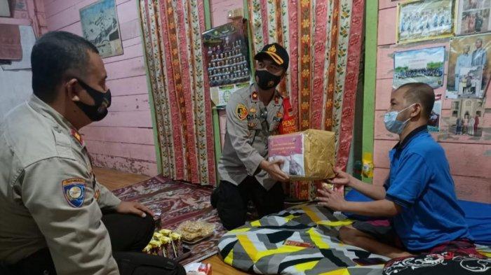 Tingkatkan Sinergitas, Wakapolres Kapuas Sambangi Koordinator Tagana