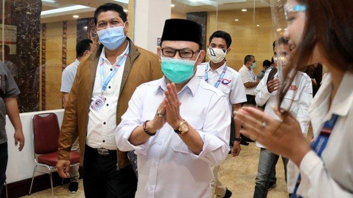 Wakil Gubernur Kalimantan Tengah, Ujang Iskandar, saat bertemu masyarakat.