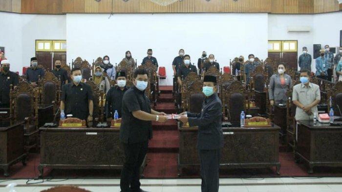 DPRD Kapuas Rapat Paripurna Penyampaian LKPj Bupati Kapuas