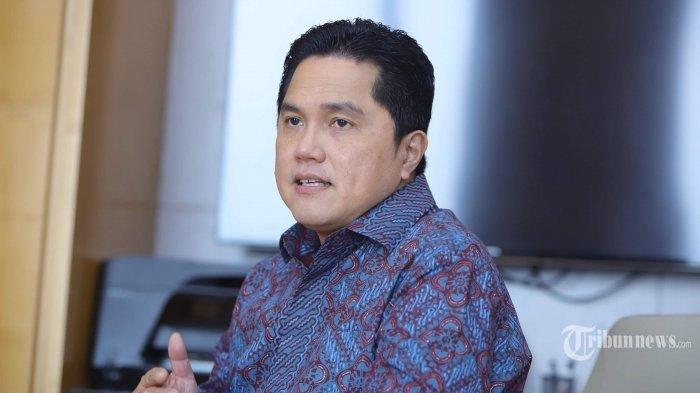 Wakil Ketua Komite Penanganan Covid-19 dan Pemulihan Ekonomi Nasional (PEN), Erick Thohir.