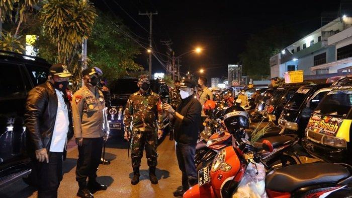 Forkopimda Kalteng Turun ke Lapangan Tertibkan Disiplin Protokol Kesehatan di Palangkaraya