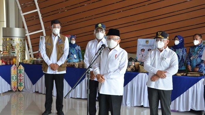 Wapres Ma'ruf Amin Ajak Masyarakat Kalteng Jangan Ragu Ikuti Vaksinasi Covid-19