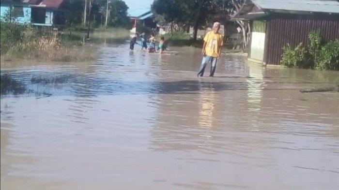 Tujuh Desa di Kecamatan Kapuas Tengah Terendam