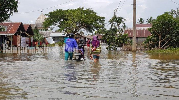 Rumah Warga Terdampak Banjir di Banjarmasin Sudah Mencapai 1.600 Buah