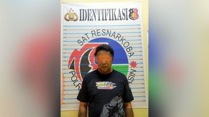 Ditangkap Polresta Banjarmasin, Warga Kelayan Selatan Ini Sembunyikan 71 Paket Sabu di Lemari Dapur