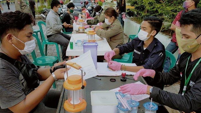 Satgas Ingatkan Warga Palangkaraya Wajib Pakai Masker Saat Diluar Rumah, Operasi Yustisi Digencarkan