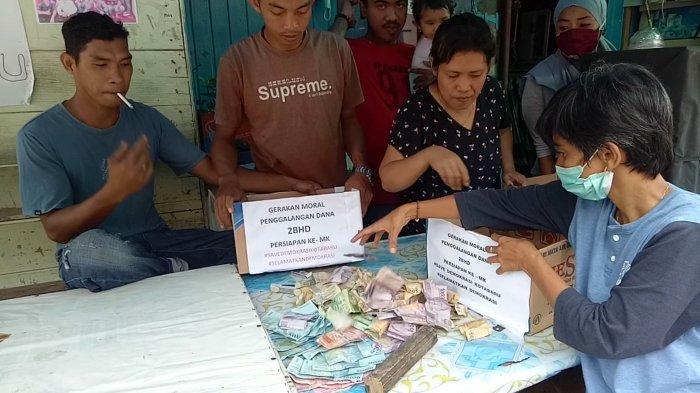 Gugat Hasil Pilkada Kotabaru, Satu Jam Pendukung Mengumpulkan Rp 2 Juta Lebih